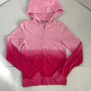 Juicy couture brand new hot pink velour sweater